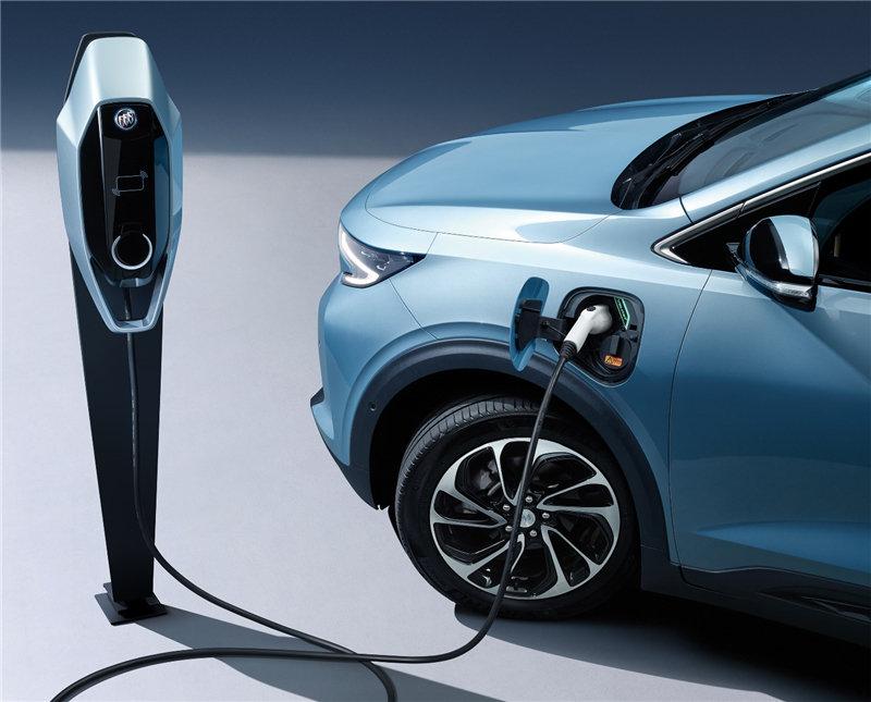 别克微蓝7纯电动SUV,可靠的集成化电驱单元