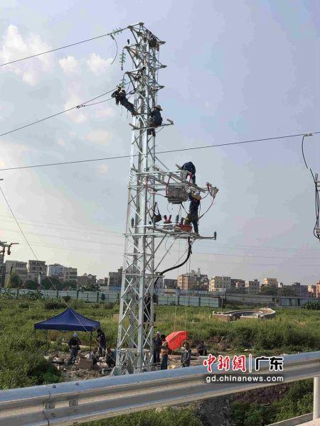 """珠三角城际广佛东环线攻克施工""""拦路虎"""",为加快推进后续施工创造了有利条件"""