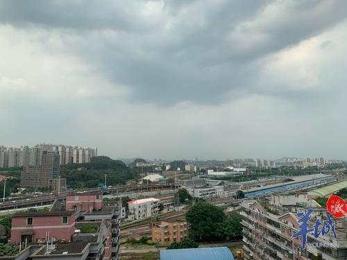 """广东未来几天天气:仍有高温、雷雨频繁、可能有""""台风胚胎"""""""